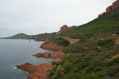 Υπόστεγο d'Azur νεφελώδες Στοκ Φωτογραφίες