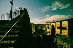 Υπόστεγο D'Azur, σκάλα των Καννών, νότια Γαλλία Στοκ εικόνα με δικαίωμα ελεύθερης χρήσης