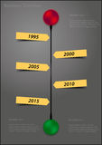 Υπόδειξη ως προς το χρόνο Στοκ Εικόνες