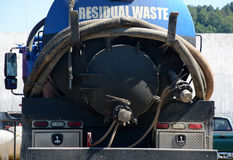 Υπόλοιπα απόβλητα Στοκ Φωτογραφίες