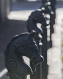 Υπόλοιπος κόσμος γαλλικών συνοικιών της Νέας Ορλεάνης των θέσεων αλόγων Στοκ Φωτογραφίες