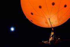 Υπόλοιπος κόσμος εγώ στο φεγγάρι Στοκ εικόνα με δικαίωμα ελεύθερης χρήσης