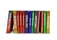 Υπόλοιπος κόσμος των βιβλίων εκπαίδευσης Στοκ Εικόνα