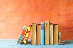 Υπόλοιπος κόσμος των εκλεκτής ποιότητας βιβλίων, Στοκ Εικόνες
