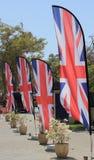 Υπόλοιπος κόσμος των σημαιών ή των Union Jack ένωσης Στοκ εικόνες με δικαίωμα ελεύθερης χρήσης