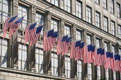 Υπόλοιπος κόσμος των σημαιών Στοκ Φωτογραφία