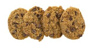 Υπόλοιπος κόσμος oatmeal τσιπ σοκολάτας των μπισκότων Στοκ εικόνα με δικαίωμα ελεύθερης χρήσης
