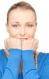 δυστυχισμένη γυναίκα Στοκ φωτογραφία με δικαίωμα ελεύθερης χρήσης