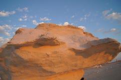 δυτικό λευκό της Αιγύπτου Σαχάρα ερήμων Στοκ Εικόνες