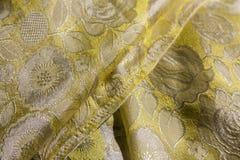 Υφαμένα λαϊκά κλωστοϋφαντουργικά προϊόντα μεταξιού/της Ταϊλάνδης Στοκ φωτογραφίες με δικαίωμα ελεύθερης χρήσης