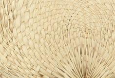 Υφαμένα σχέδιο φύλλα ανεμιστήρων Στοκ εικόνα με δικαίωμα ελεύθερης χρήσης