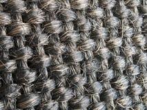 Υφαμένες πρότυπο ίνες μαλλιού Στοκ εικόνες με δικαίωμα ελεύθερης χρήσης