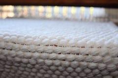 Υφαμένη χέρι κουβέρτα βαμβακιού στοκ φωτογραφία με δικαίωμα ελεύθερης χρήσης