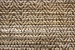 Υφαμένο ινδικός κάλαμος υπόβαθρο Handcraft Στοκ εικόνες με δικαίωμα ελεύθερης χρήσης