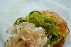 Υφαντικά λουλούδια Στοκ φωτογραφία με δικαίωμα ελεύθερης χρήσης