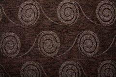 Υφαντική σύσταση Anemon 0344 υφάσματος καφετί χρώμα σφραγίδων Στοκ εικόνα με δικαίωμα ελεύθερης χρήσης