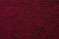 Υφαντική σύσταση Anemon Kombin 06 υφάσματος σκούρο κόκκινο χρώμα Στοκ Εικόνα