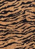 υφαντική τίγρη σύστασης HQ υφάσματος Στοκ Εικόνα