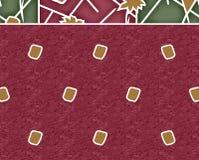 Υφαντικό σχέδιο μαντίλι τυπωμένων υλών Στοκ Εικόνες