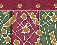 Υφαντικό σχέδιο μαντίλι τυπωμένων υλών Στοκ Φωτογραφίες