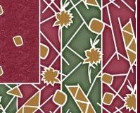 Υφαντικό σχέδιο μαντίλι τυπωμένων υλών Στοκ φωτογραφίες με δικαίωμα ελεύθερης χρήσης