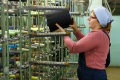 Υφαντουργείο στη Ρωσία Στοκ Εικόνες