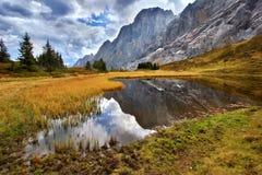 υψηλά βουνά ελών στοκ φωτογραφίες