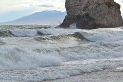 υψηλά κύματα Στοκ εικόνες με δικαίωμα ελεύθερης χρήσης