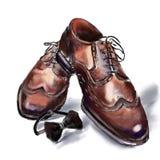 Υψηλά παπούτσια για τους γενναίους και τολμώντας ανθρώπους Στοκ εικόνα με δικαίωμα ελεύθερης χρήσης