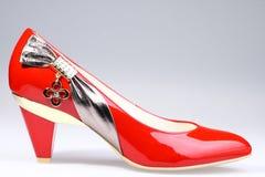 υψηλά παπούτσια τακουνιών Στοκ Φωτογραφία
