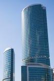 υψηλά scyscrapers δύο στοκ εικόνες με δικαίωμα ελεύθερης χρήσης
