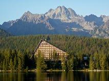 υψηλά tatras ξενοδοχείων Στοκ Εικόνα