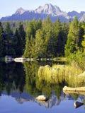 υψηλά tatras πετρών λιμνών Στοκ εικόνες με δικαίωμα ελεύθερης χρήσης