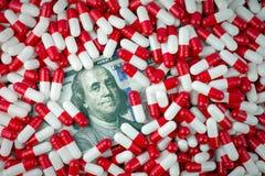 Υψηλές γενικές τιμές φαρμάκων στοκ φωτογραφίες