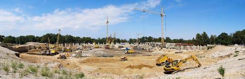 υψηλή άνοδος κατασκευή&si Στοκ εικόνα με δικαίωμα ελεύθερης χρήσης