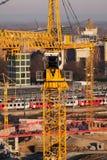 υψηλή άνοδος κατασκευή&si Στοκ Φωτογραφίες