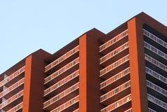 υψηλή άνοδος κτηρίου δια Στοκ Εικόνες