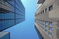 υψηλή άνοδος κτηρίων στοκ εικόνες