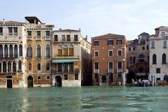 υψηλή παλίρροια Βενετία Στοκ Φωτογραφία