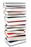 Υψηλή στοίβα βιβλίων Στοκ Εικόνες