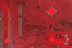 Υψηλή τεχνολογία μητρικών καρτών ηλεκτρονικής τσιπ υπολογιστή Σύσταση και υπόβαθρο πινάκων κυκλωμάτων Στοκ εικόνα με δικαίωμα ελεύθερης χρήσης