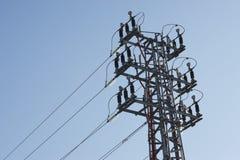 υψηλή pylon ένταση Στοκ φωτογραφίες με δικαίωμα ελεύθερης χρήσης