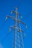 υψηλή pylon τάση ηλεκτρικής ενέ Στοκ Εικόνα