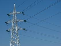 υψηλή pylon τάση Στοκ φωτογραφία με δικαίωμα ελεύθερης χρήσης