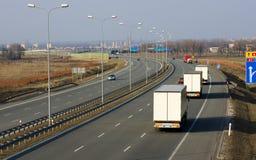 υψηλός δρόμος της Πολωνίας στοκ εικόνες