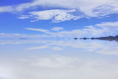 υψηλός ουρανός καθρεφτών λιμνών χωρών Στοκ Εικόνες