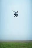 υψηλό άλμα ογκώδες Στοκ εικόνα με δικαίωμα ελεύθερης χρήσης