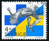 Υψηλό άλμα του Πάτρικ Sjoberg Σουηδία Στοκ φωτογραφίες με δικαίωμα ελεύθερης χρήσης