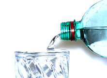 υψηλό βασικό χύνοντας ύδωρ στοκ εικόνα με δικαίωμα ελεύθερης χρήσης