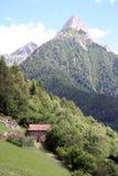 υψηλό βουνό στοκ εικόνες